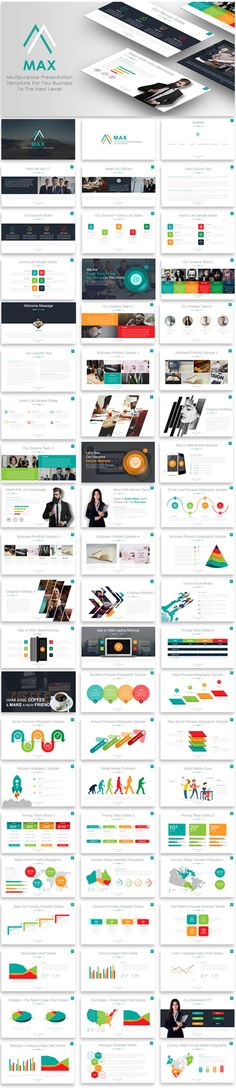 121 best business powerpoint templates images on pinterest in 2018 evolution multipurpose powerpoint template flashek Images