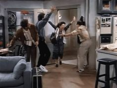 Pin for Later: Take a Minute to Relive the Funniest Seinfeld Moments Ever When This Group Dance Happens
