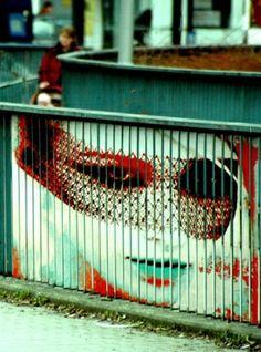 zebrating - street artist