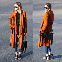 O laranja é aposta para o verão 2016. Comece a usar já essa tendência. Confira no Moda que Rima. Autumn Winter Fashion, Fall Winter, German Fashion, Design Department, Terracota, 28 Years Old, Living In New York, Fashion Editor, Burnt Orange