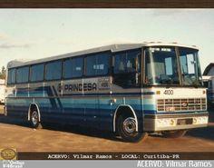 Ônibus da empresa Princesa do Norte, carro 4100, carroceria Nielson Diplomata 350, chassi Scania S112. Foto na cidade de - por ACERVO: Vilmar Ramos, publicada em 19/09/2016 21:26:25.