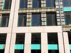 Stone Rainscreen Cladding and Airtec Stone Cladding supplied for a variety of architectural and design projects. Rainscreen Cladding, Stone Cladding, Natural Stone Veneer, Natural Stones, Stone Facade, London Landmarks, Brooklyn Heights, Stone Slab, Mitered Corners