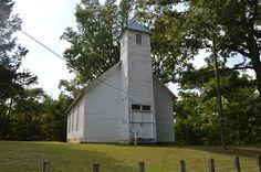 Macedonia Church in Lawrence County, Ohio.