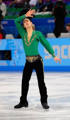 I loved him & his routine! . . .Olympics Team Figure Skating
