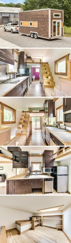 A 312 sq ft tiny house, currently available for sale in Tennessee!