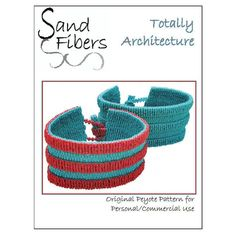 Peyote Pattern Totally Architecture Peyote Cuff / by SandFibers
