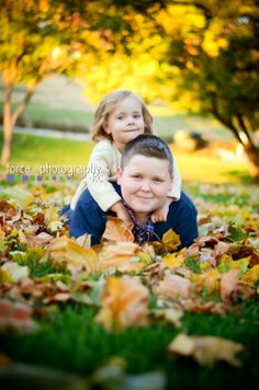Child Photography Fall colors, siblings, brother and sister Kansas City, MO http://www.forcephotographykc.com