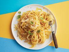 Caramelized Onion Pasta Carbonara