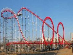 3 Ring Achterbahn zu verkaufen - Roller Coaster for Sale - Oktoberfest Roller Coaster For Sale, Biggest Roller Coaster, Best Roller Coasters, Roller Coaster Ride, Ring Roller, Amusement Park Rides, Let's Have Fun, Train Rides, Oktoberfest