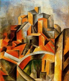 Analytical cubism is considered to be one of the main stages of cubist art by Pablo Picasso & Georges Braque. Pablo Picasso Cubism, Kunst Picasso, Picasso Art, Picasso Paintings, Georges Braque, Henri Matisse, Picasso And Braque, Cubist Art, Paul Gauguin