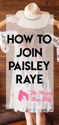 How To Join Paisley Raye #paisleyraye #fashion #directsales
