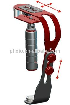 Mini stabilizer:  1.lightweight to carry  2.Comfortable handle design  3.CNC machined construction