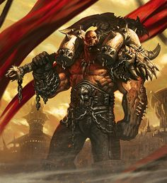 Garrosh Hellscream, Warrior