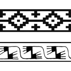 Risultati immagini per guardas pampa Native American Ancestry, Native American Design, Hand Embroidery Patterns Flowers, Fabric Patterns, Islamic Art Pattern, Pattern Art, Bracelete Tattoo, Shape Poems, Hand Painted Fabric