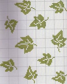 """""""FEUILLES pour personnalisation"""" Cross Stitch Tree, Mini Cross Stitch, Simple Cross Stitch, Easy Cross Stitch Patterns, Cross Stitch Designs, Mini Christmas Stockings, Everything Cross Stitch, Tapestry Crochet Patterns, Double Knitting"""