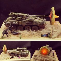 WOW!!! AFV 1/35 STRYKER M1128. Modeler Mike Chien #diorama #scalemodelkit #scalemodelsworld #plasticmodel #plastimodelismo #hobby #usinadoskits #udk