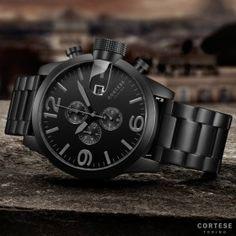 Cortese Gran Torino Full Black Chronograph