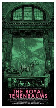 Mondo: The Archive | Daniel Danger - The Royal Tenenbaums, 2009