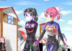 Anime Girl Neko, Anime Art Girl, Anime Chibi, Gamer Pics, Best Gaming Wallpapers, Epic Games Fortnite, Anime Version, Cute Chibi, Video Game Art