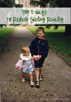 5 ways to reduce sibling rivalry