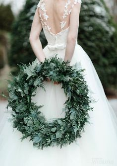 WedLuxe – A Celebration of the Holiday Season- Winter Wedding Inspiration | Photography by: Katie Nicolle Photography Follow @WedLuxe for more wedding inspiration!