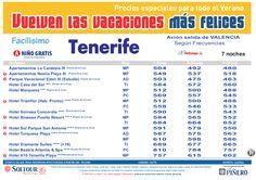 2ªEdición Las vacaciones mas felices sep-oct. Hoteles en Tenerife salidas desde Valencia - http://zocotours.com/2aedicion-las-vacaciones-mas-felices-sep-oct-hoteles-en-tenerife-salidas-desde-valencia/