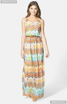 длинные платья в пол фото