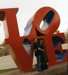 Love sign-Scottsdale, AZ...We've visited Philly, Scottsdale and NYC..want to visit all of them