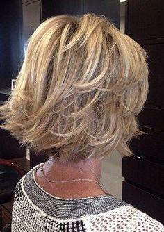 Medium Length Layered Bob Hairstyles (View 9 of Long Hair Older Women, Haircut For Older Women, Haircuts For Fine Hair, Short Hair Cuts For Women, Short Hairstyles For Women, Trendy Hairstyles, Short Cuts, 2017 Haircuts For Women, Summer Haircuts