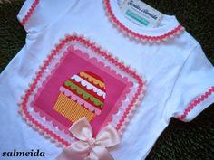 Tocados Almeida Diy Crafts, Sewing, Pink, Mens Tops, T Shirt, Fashion, Kids Fashion, Mothers Love, Ladies T Shirts