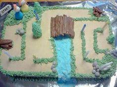 Maze Cake