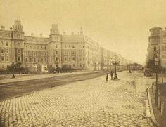 Andrássy út 83-85. 1890-es évek, Weinwurm Antal felvétele, BTM Kiscelli Múzeum Fényképtára forrás