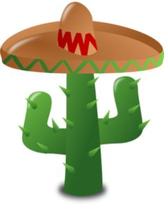 colorful mexican sombrero hat free clip art templates 2 rh pinterest com