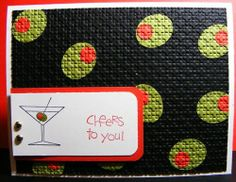 Cheers to you. Stampin Up