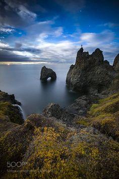 Nightfall at Kuannit by PaulZizkaPhoto