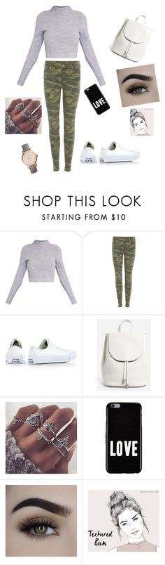 """""""Untitled #352"""" by esii-li ❤ liked on Polyvore featuring True Religion, Converse, Everlane, Givenchy and FOSSIL"""