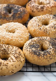 Homemade New York-Style Bagels