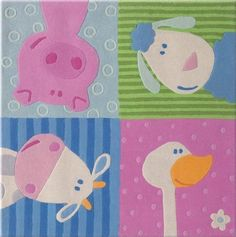 Haba Animal Quartet, Rug by Haba Toys USA. $161.99. Save 18% Off!