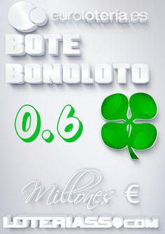 Bonoloto, Bote, 600.000 €, Viernes 17/01/2014