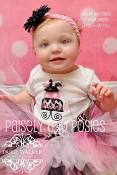 Funky Over the Top Birthday Cake Set  Sizes 6 by paisleyandposies, $45.00 cute outfit for the birthday girl
