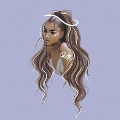 Ariana Grande's 10 Best Collaborations: Critic's Picks – Celebrities Woman Ariana Grande Anime, Ariana Grande Drawings, Ariana Grande Fotos, Ariana Grande Pictures, Ariana Grande Background, Ariana Grande Wallpaper, Black Girl Art, Art Girl, Cute Drawings