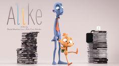 "CGI 3D Animated Alike Short Film by Daniel Martínez Lara & Rafa Cano Méndez. Featured on http://www.cgmeetup.net/home/alike-short-film/ ""Alike"" is an animate..."