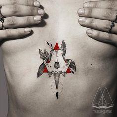💀🐕#tattoo #tatt #dotwork #linework #ink #inked #geometry #art #skulltattoo #mentatgamze