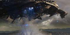 Skyline: The Harvest Begins Best Sci Fi Movie, Sci Fi Movies, Alien Spaceship, Spaceship Design, Skyline 2010, Magna Anime, Heavy Metal, Alien Ship, Dope Wallpapers