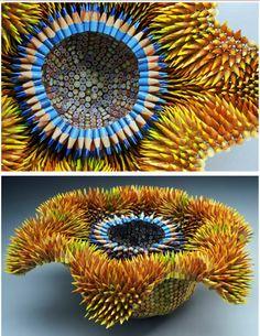 Pencil Sculptures!