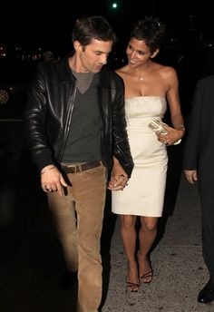 Halle Berry and Olivier Martinezs date night