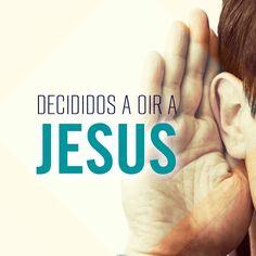 Dios tiene algo que decirte... que no pase este día sin escuchar su voz...