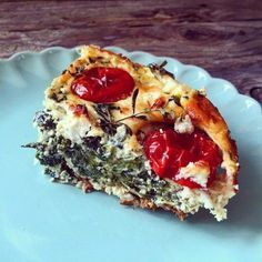 Spinat Feta Auflauf aufgeschnitten Quick and Easy Healthy Lunch Ideas Healthy Lunch Ideas are the ni Healthy Meals To Cook, Healthy Cooking, Healthy Dinner Recipes, Diet Recipes, Paleo Dinner, Healthy Food, Avocado Dessert, Paleo Dessert, Quiches