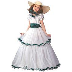Southern Belle Girls Halloween Costume