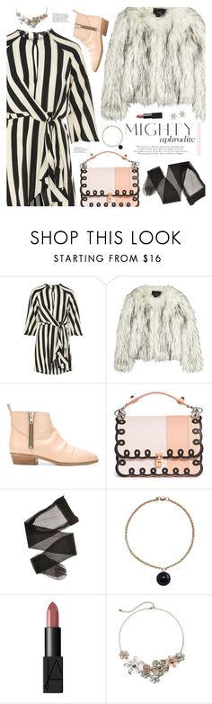"""mighty aphrodite (TOP SET 1st FEBRUARY)"" by valentino-lover ❤ liked on Polyvore featuring Topshop, Unreal Fur, Golden Goose, Fendi and Mudd"